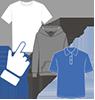 1.Choose your garments