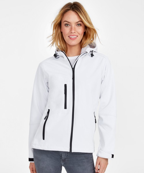 SOL'S Ladies Replay Hooded Soft Shell Jacket
