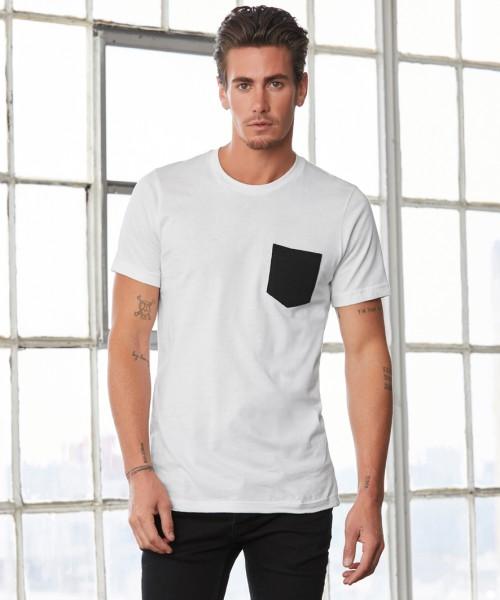 Canvas Jersey Pocket T-Shirt
