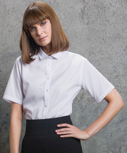 Kustom Kit Ladies Short Sleeve Premium Corporate Shirt