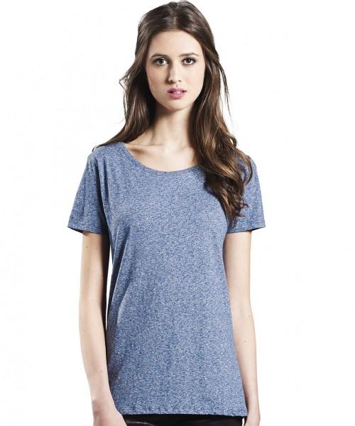 Earth Positive Women's Special Yarn Effect T-Shirt