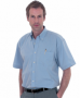 Uneek Mens Short Sleeve Oxford Shirt