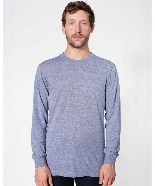 American Apparel Tri-blend long sleeve t-shirt