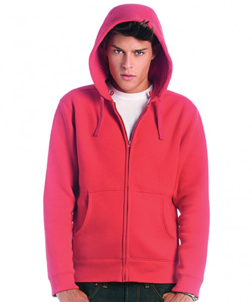 B&C Collection Hooded full zip /men