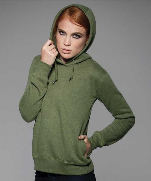 B&C Denim Collection Womens Hooded Sweatshirt