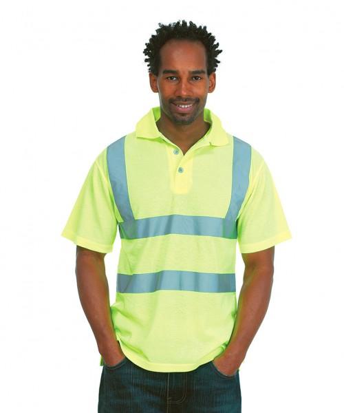 Uneek Hi Viz Polo Shirt