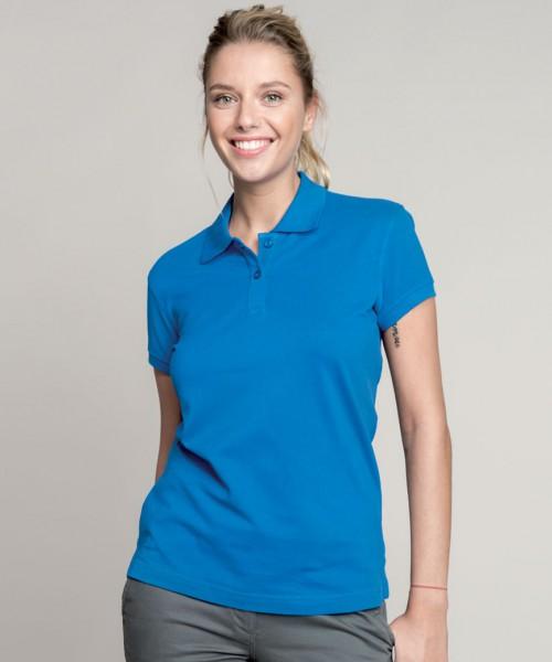 Kariban Ladies Cotton Pique Polo Shirt