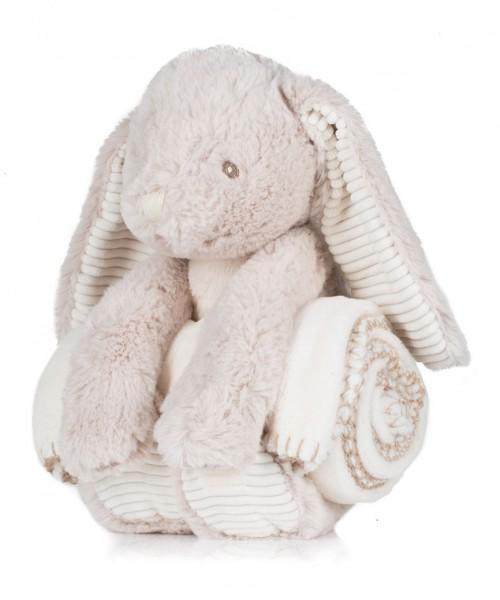 Mumbles Rabbit and Blanket Set