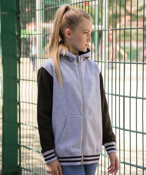 AWDis Kids Urban Varsity Zoodie