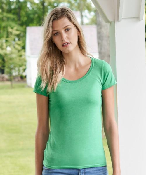 Gildan Ladies SoftStyle Deep Scoop T-Shirt