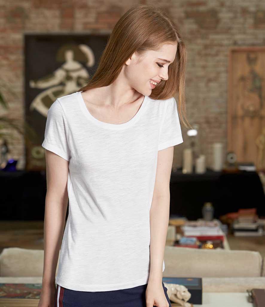 637981d9 BC Organic Womens Slub T-Shirt
