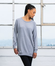 Mantis Ladies Long Length Sweatshirt