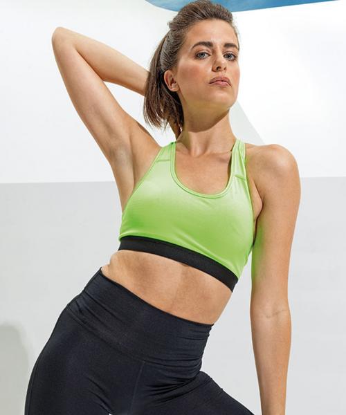 TriDri Womens performance sports bra medium impact