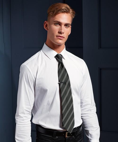Premier Four Stripe Business Tie
