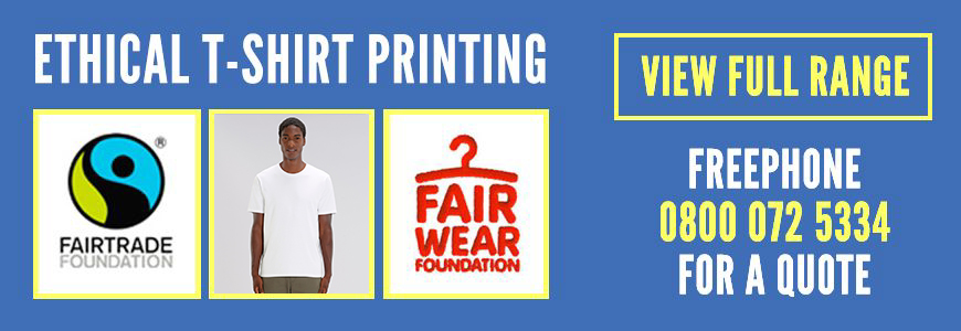1009d71b Ethical & Fair Trade Organic T Shirt Printing - Shirtworks