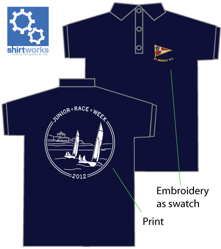 Sailing Club Polo Shirts