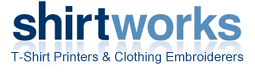 T-Shirt Printing and Clothing Embroidery by Shirtworks